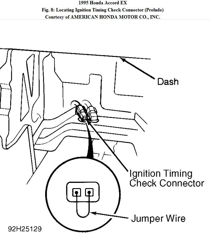 What Is the Ignition Timing on a 1995 Honda Accord 4 Cyl 5