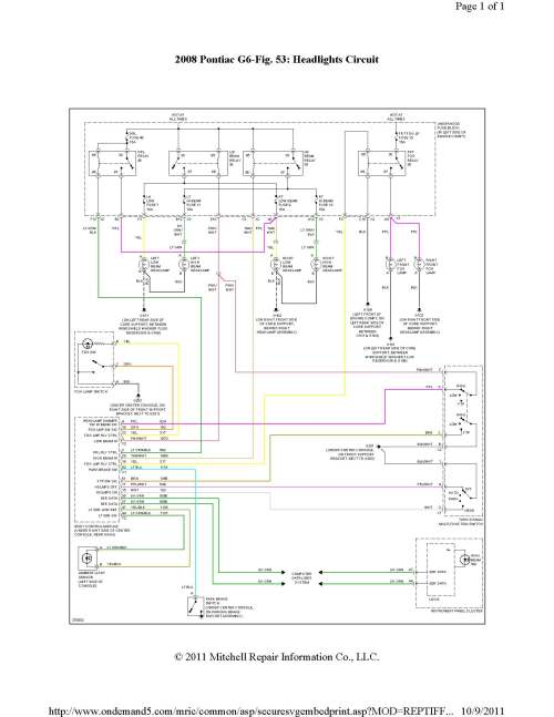 small resolution of g6 headlight wiring harness data diagram schematic 2008 pontiac g6 headlight wiring diagram 2008 pontiac g6