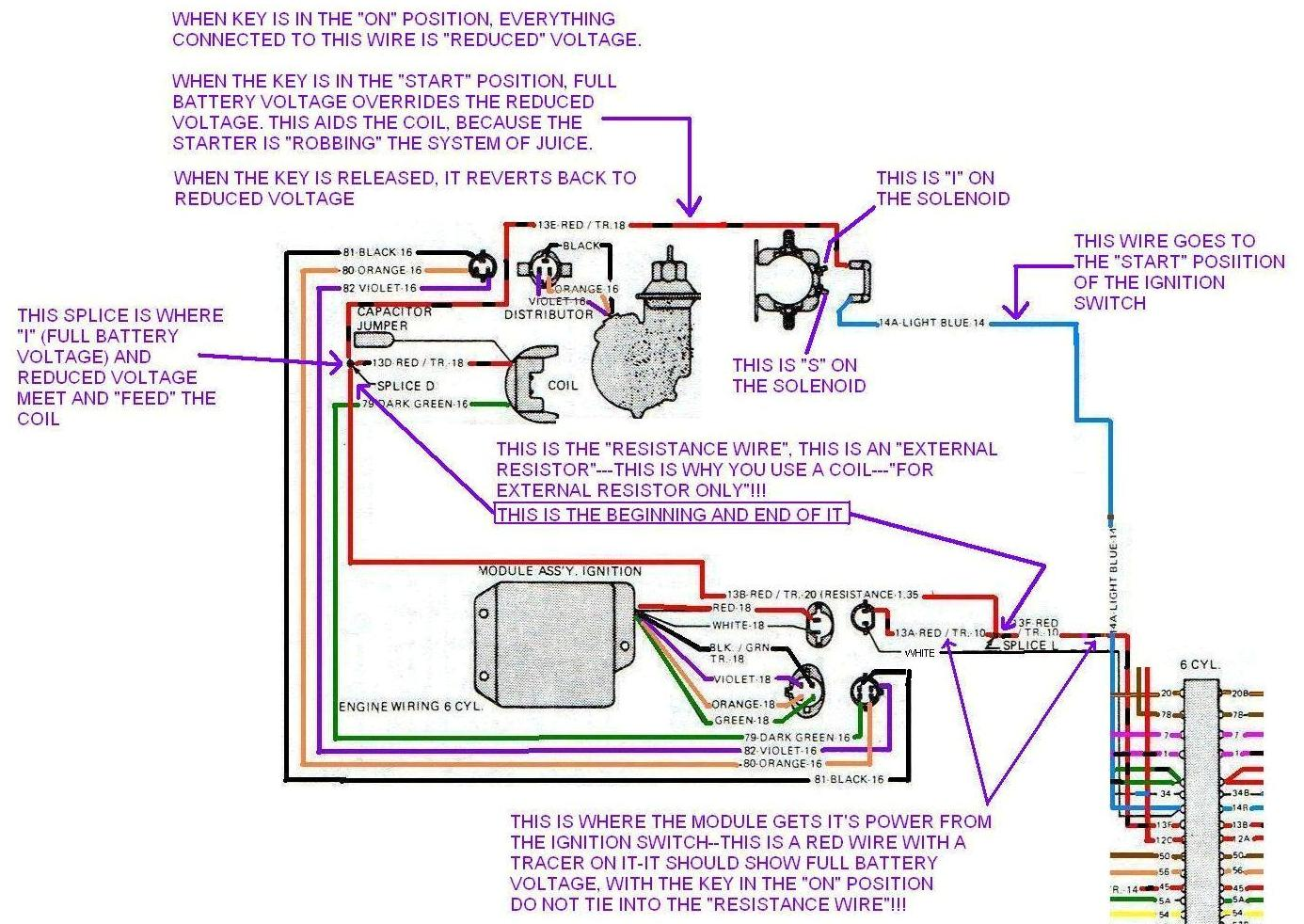 how to wire a ballast resistor diagram wiring for two way switch i replaced the dual pickup coil cap and