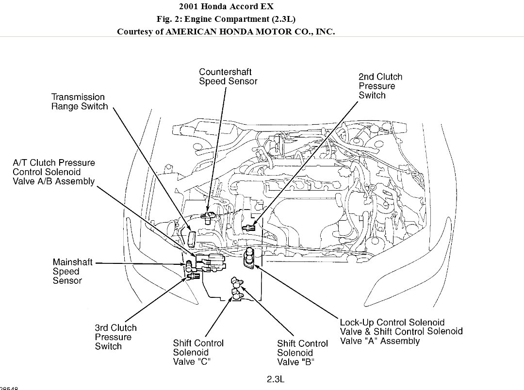 2001 honda accord parts diagram nest thermostat wiring for heat pump transmission is slipping this a 4 cyl automatic i