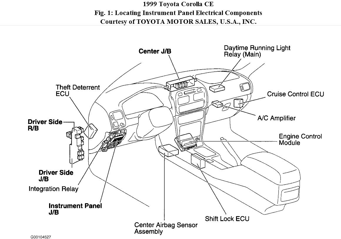 2004 Toyota Matrix Wiring Diagram. 2007 Toyota Fj Cruiser