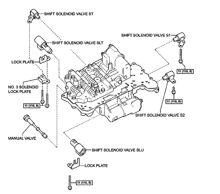 U340E Automatic Transaxle: Hello I Read Some Documents