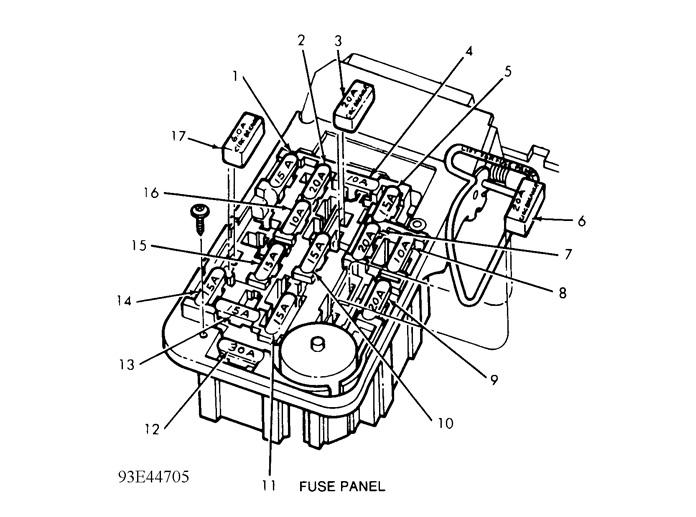 1989 ford ranger need fuse panel diagram for 8939 ford range