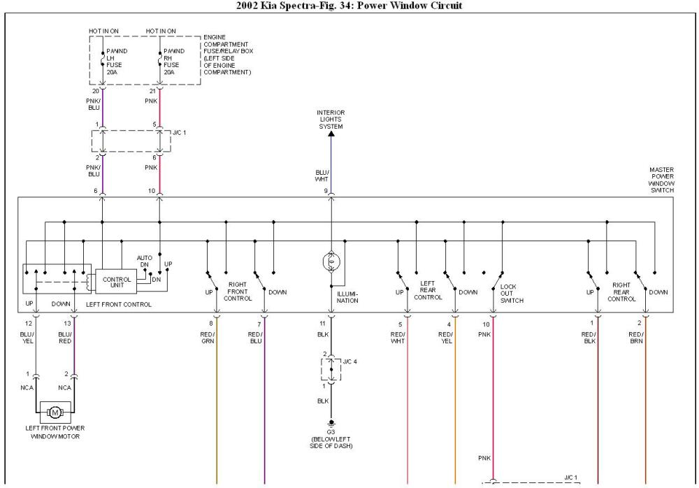 medium resolution of 02 kia spectra fuse box diagram
