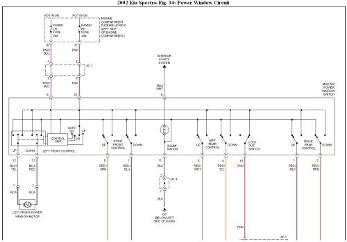 small resolution of kia sportage power window wiring diagram