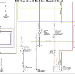 Nissan Xterra Diagram Dual Wiring 2001 A C Pressure Switch Not Work