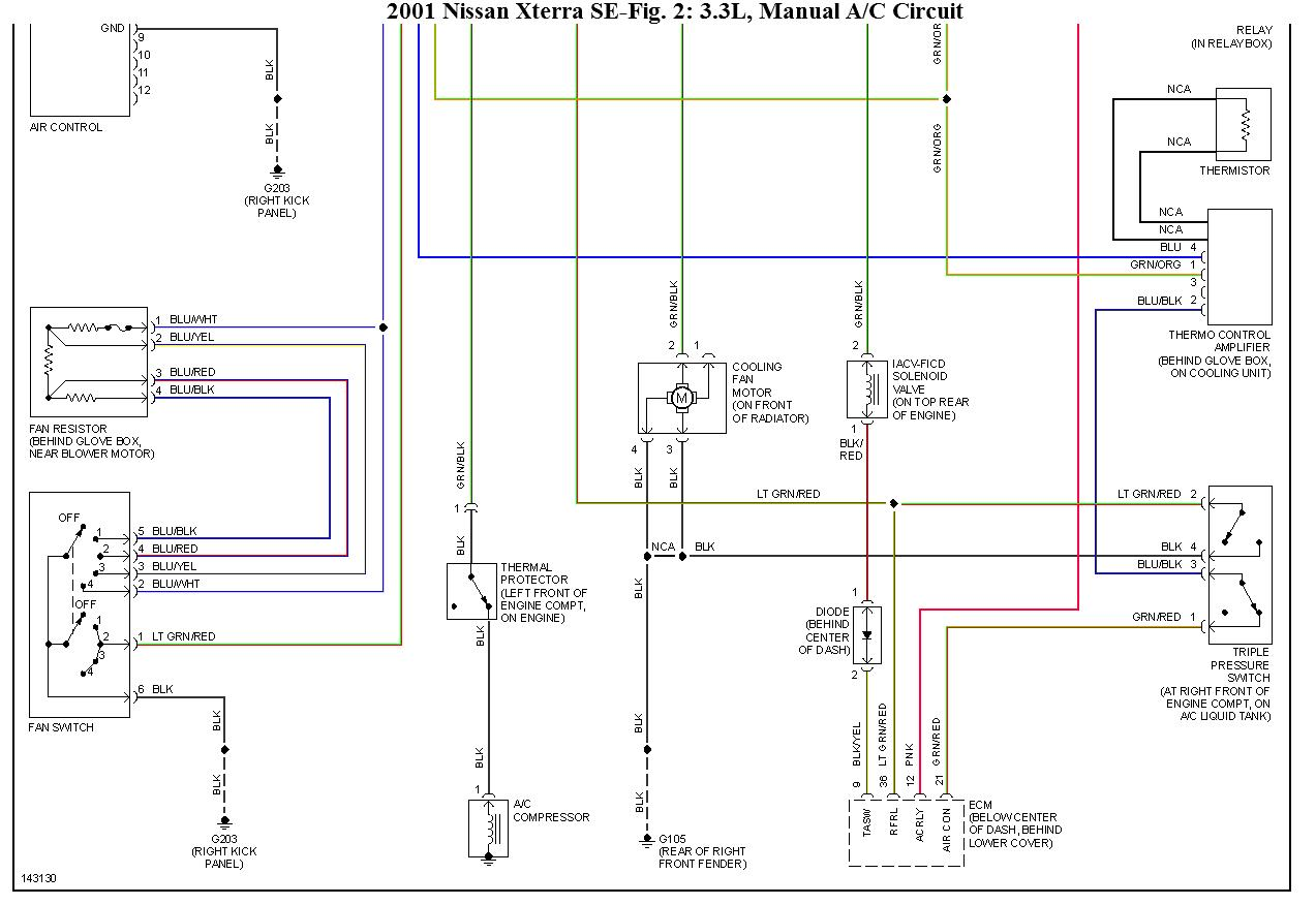 2001 nissan sentra wiring diagram stress and strain for ductile material 06 frontier ac control amplifier 47