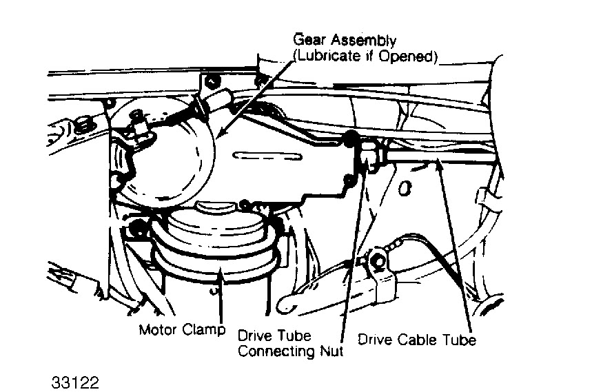 Replace Windshield Wiper Motor?: How to Replace Windshield