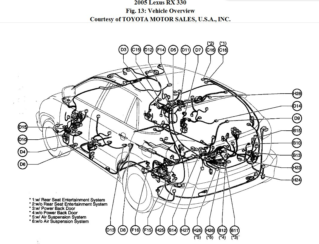 2006 Lexus Rx 330 Radio Wiring Diagram 2006 Lexus IS 250