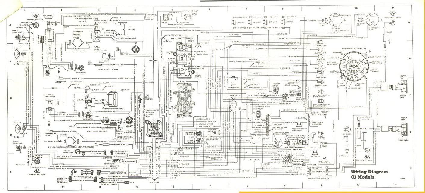 Wiring Harnes On 84 Cj7 4 2l