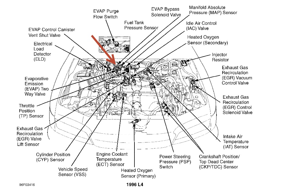 2008 Honda Odyssey Engine Diagram
