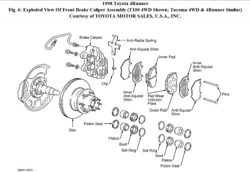 small resolution of 1998 toyota tacoma front hub diagram 1998 auto engine 2005 toyota tacoma engine diagram 1996 toyota