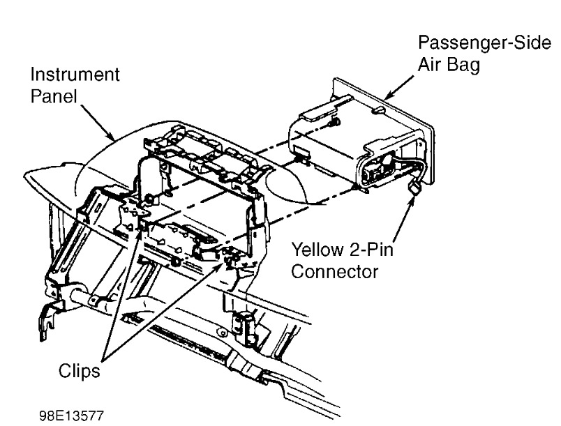 Chevy Airbag Diagram. Catalog. Auto Parts Catalog And Diagram