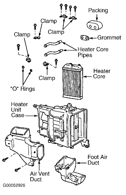 2000 Toyota Tundra Heater Diagram. Toyota. Auto Parts