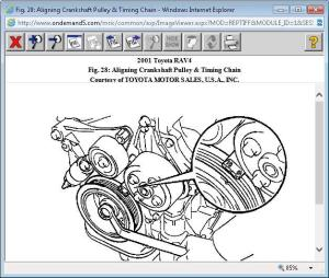 1az Fe Engine Timing Mark Diagram | WIRING DIAGRAM TUTORIAL