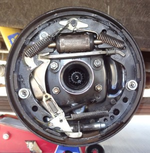 See Photo: Are the Rear Drum Brake Springs in the Correct