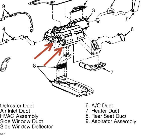1999 Oldsmobile Aurora Climate Control: the Climate