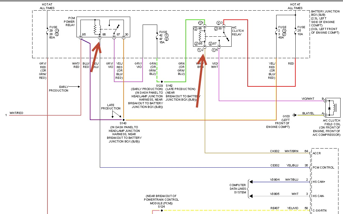hight resolution of ford fusion ac wiring diagram