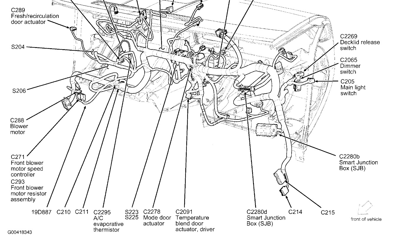 hight resolution of ford five hundred a c fuse diagram