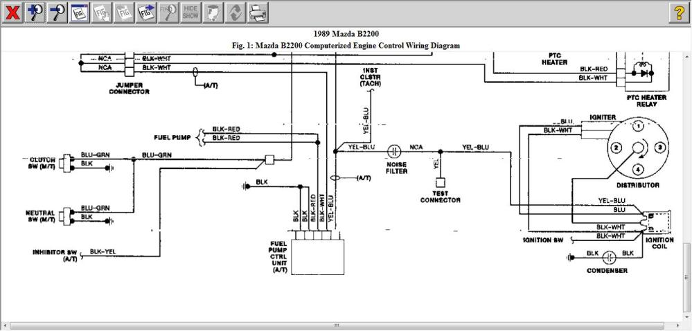 medium resolution of mazda b2200 diagram wiring diagram for you mazda 2 wiring diagrams mazda b2200 engine wiring diagram