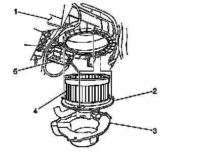 2003 Chevy Trailblazer Blower Motor Resistor Replacement