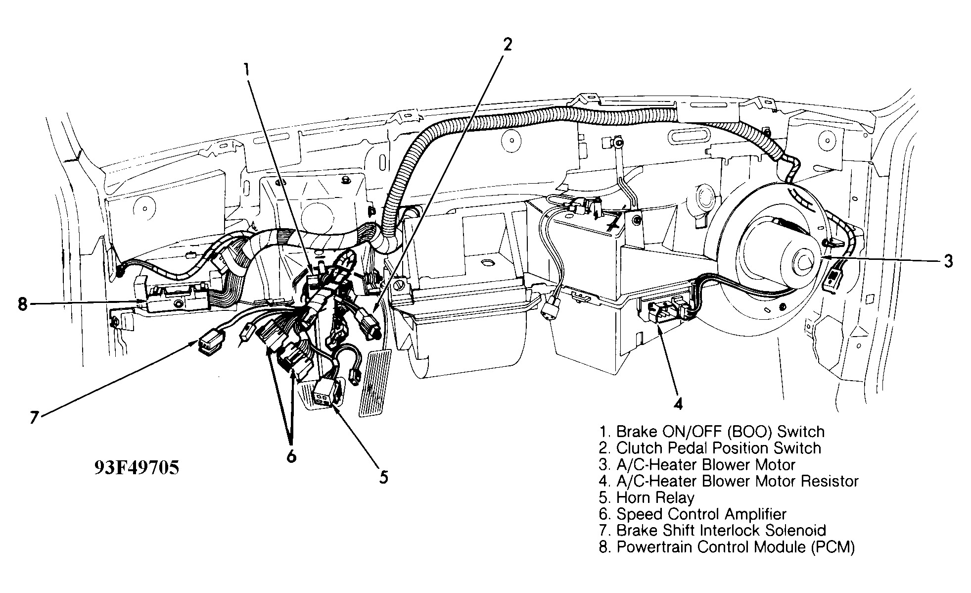 Ford Tempo Engine Diagram