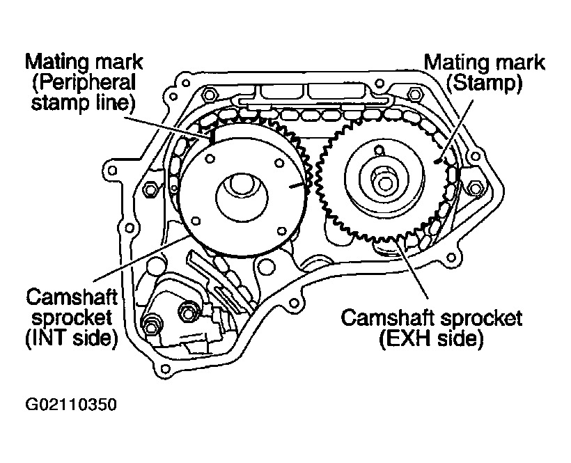2002 Nissan Altima Timing Chain Marks Lost: Head Gasket