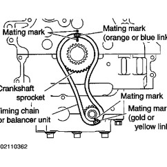 2005 Nissan Altima Engine Diagram Trailer Lights Wiring South Africa 2003 2 5 Great Installation Of Timing Chain Marks Hello 2carpros I Am Wondering Rh Com Parts 2008