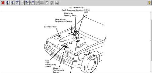small resolution of 1991 pickup 22re engine no start has spark but fuel pump has no