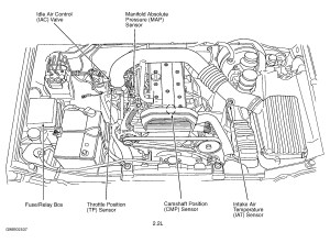 Crankshaft Position Sensor Location Diagrams Wiring