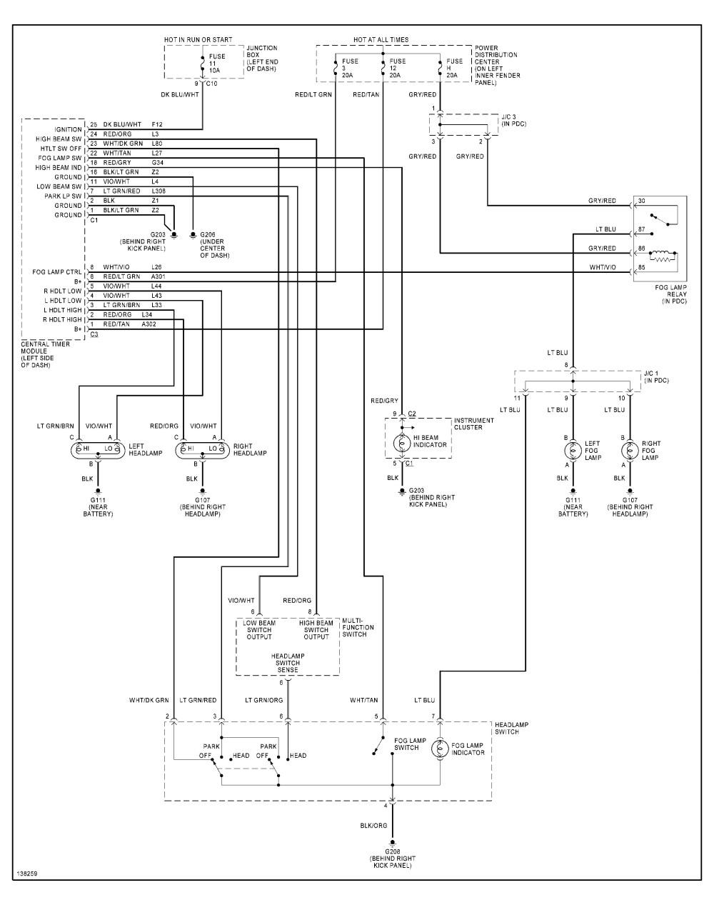 medium resolution of 2001 dodge dakota headlight switch the headlights have an light switch circuit diagram dodge light switch diagram
