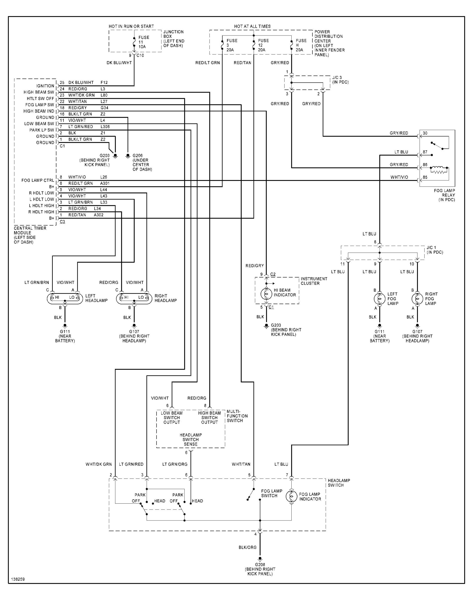 hight resolution of 2001 dodge dakota headlight switch the headlights have an dodge ram trailer wiring diagram 00 dakota headlight switch wiring diagram