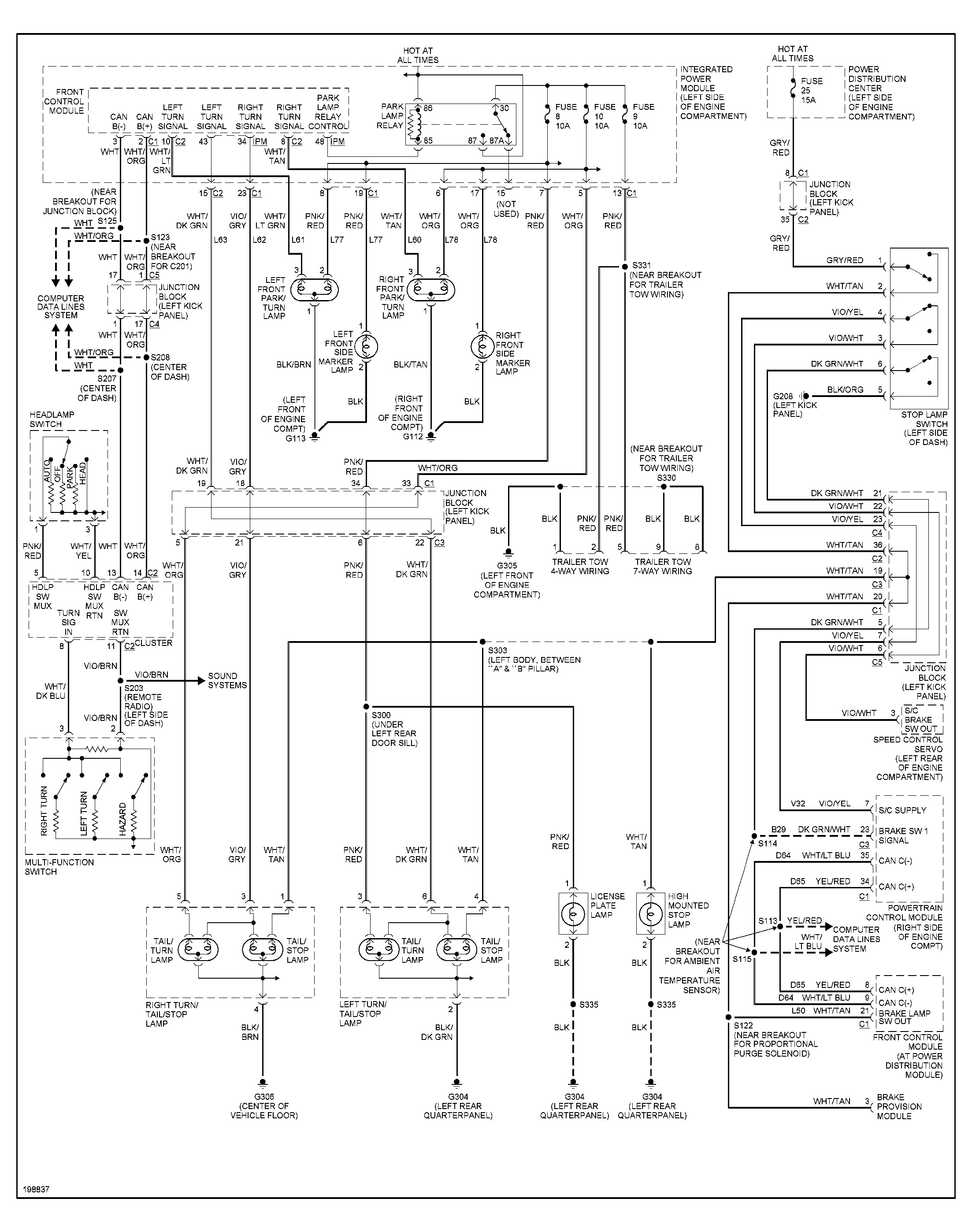 [DIAGRAM] 2000 Dodge Durango Radio Wiring Diagram FULL