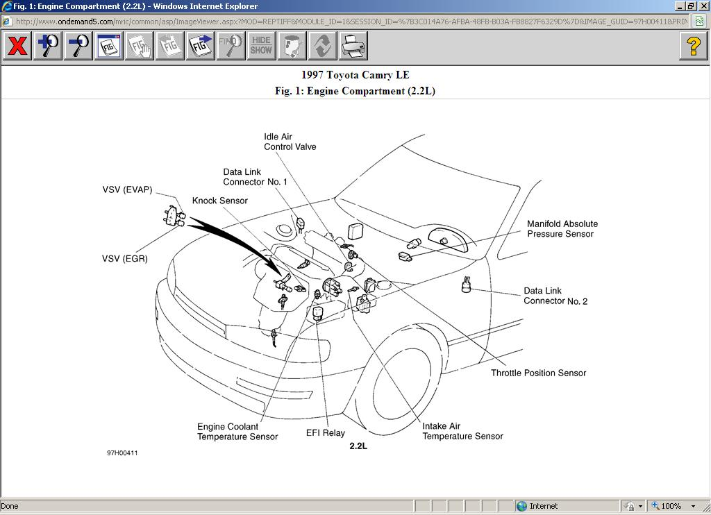 Help to Change Out the Egr Vsv without Taking Out the Old