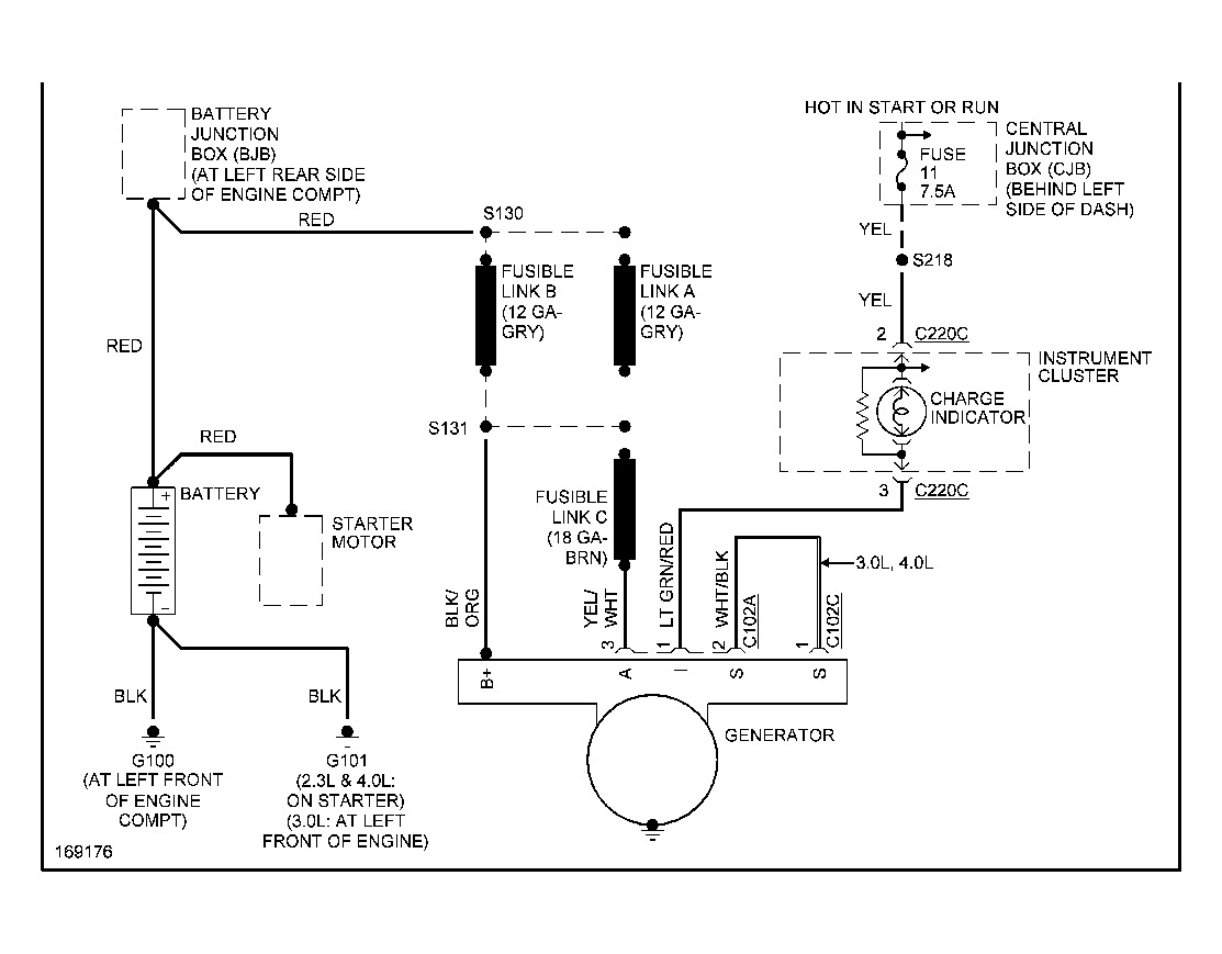 ford ranger alternator wiring diagram 2001 chevy trailblazer radio 03 change your