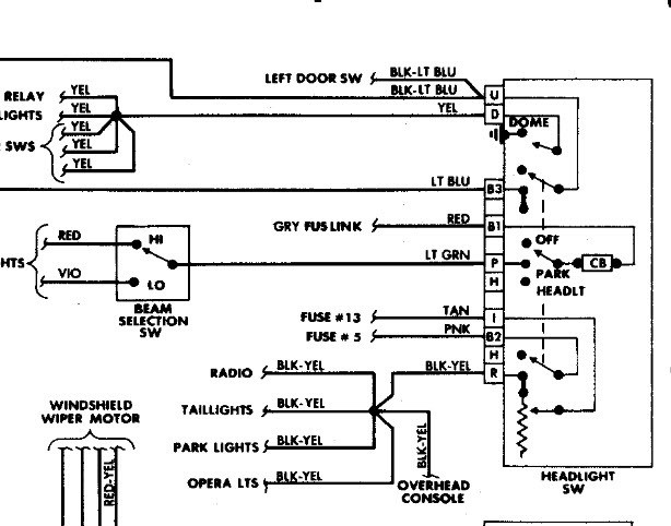 1988 Dodge Diplomat Wiring Digram: Need a Wiring Diagram
