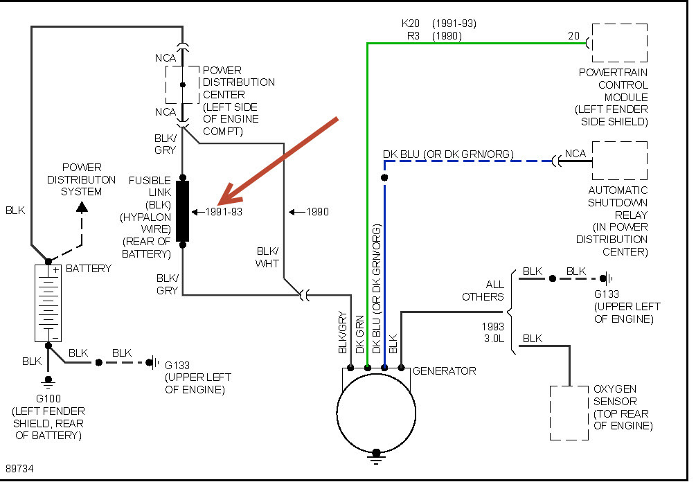 integra fuse box location