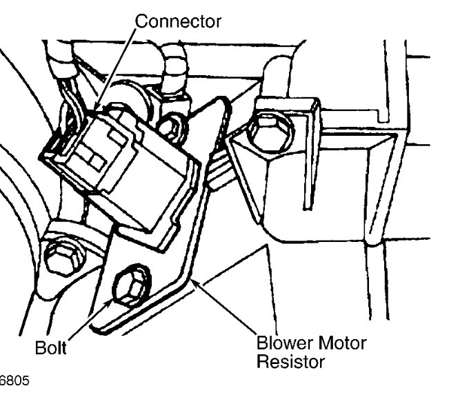 2002 Ford Expedition Ac Resistor: My Ac Only Blows on High