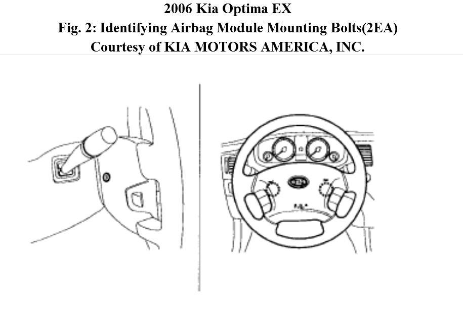 2006 Kia Optima Ignition Switch Removal and Replacement