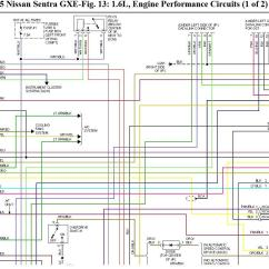 2002 Nissan Sentra Stereo Wiring Diagram 2001 Oldsmobile Alero Engine For Gxe 1995 Problem