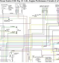 wiring diagram for nissan sentra gxe 1995 wiring problem 1996 ford aspire wiring diagram 1996 [ 1267 x 871 Pixel ]