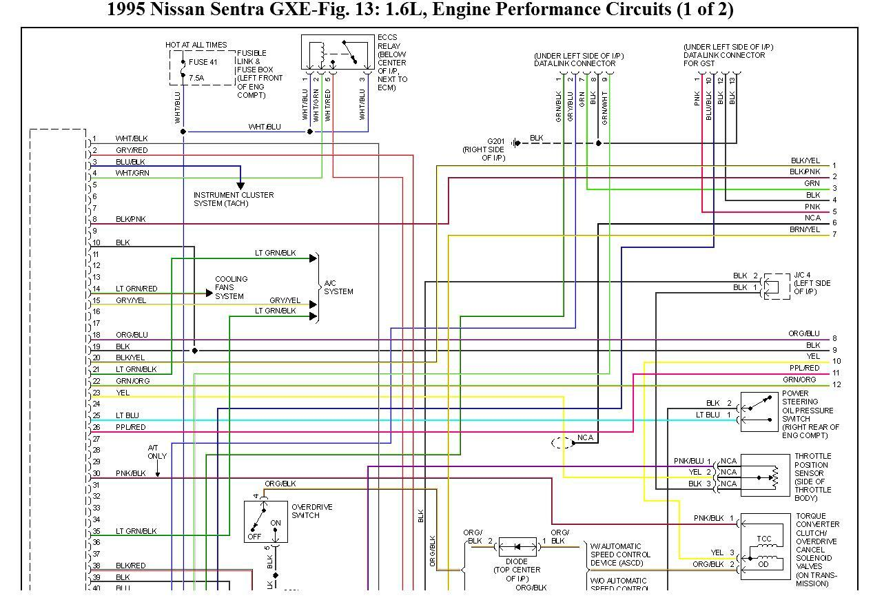 hight resolution of wiring diagram for 1995 nissan sentra schema diagram database 1995 nissan sentra fuse panel 1995 nissan 200sx fuse diagram