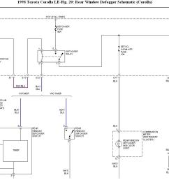electrical problem rear defogger not wokingelectric rear window defroster wiring diagram 14 [ 1246 x 868 Pixel ]