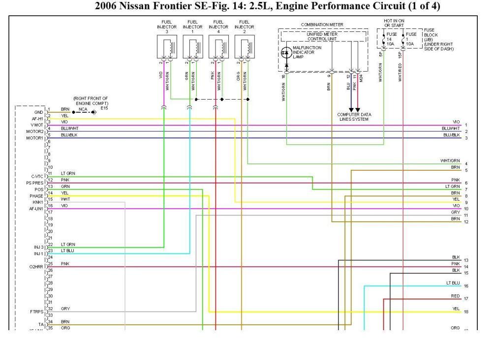 medium resolution of 2006 nissan bakkie electrical wiring diagram good day i rh 2carpros com 2006 nissan maxima wiring
