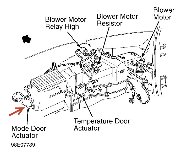 1993 Chevy Suburban Heater Blower Motor Wiring Diagram