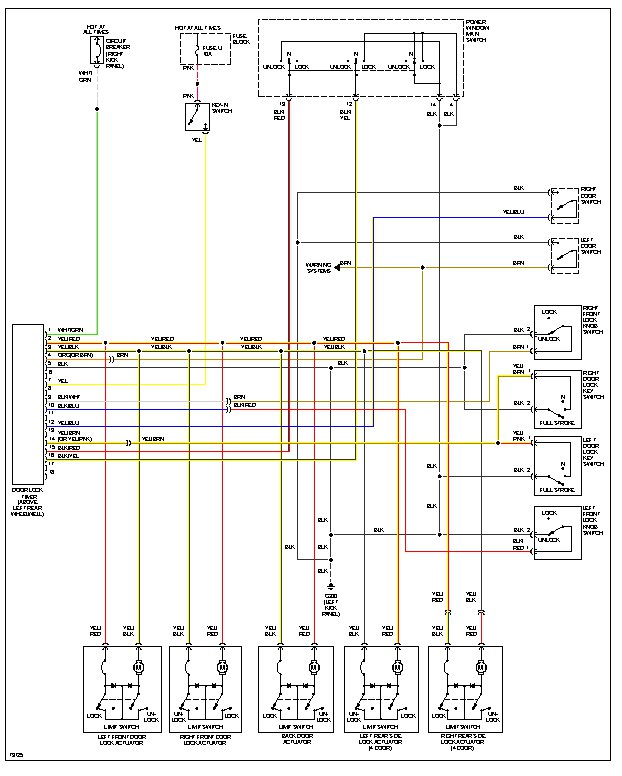 1997 nissan pathfinder radio wiring diagram index listing of
