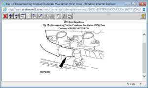 2004 Ford Expedition Pcv Valve: Is the Valve Located Under the