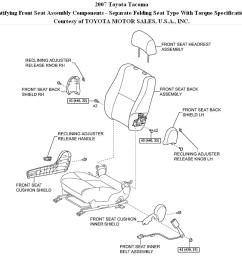 tacoma seat cover replacement i have to replace the bottom front 2005 toyota tacoma wiring diagram 2007 toyota tacoma seat diagram [ 1019 x 857 Pixel ]