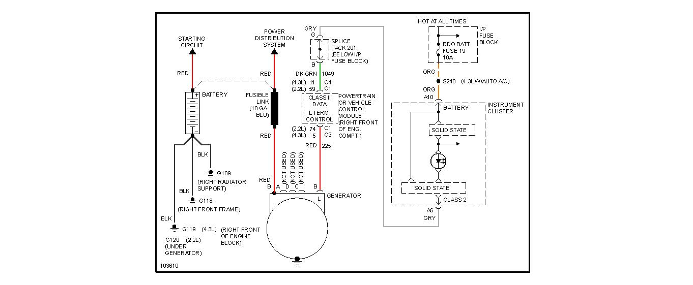 Rdo Fuse Box Diagram 2001 Chevy S10. Electrical. Auto