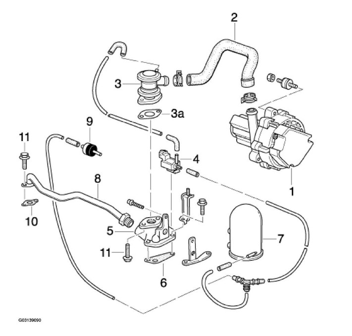 Service manual [2003 Porsche Boxster Change Gas Tank Vent